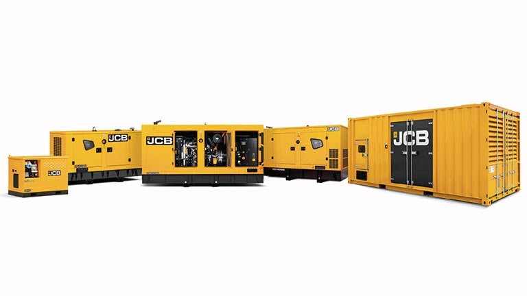 JCB Generators Wales